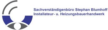 Sachversändigenbüro Stephan Blumhoff Installateur- u. Heizungsbauerhandwerk